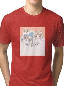 Nesting Dolls Tri-blend T-Shirt