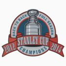 Back to Back Full Season Champions - Retro (Stitched) by theroyalhalf