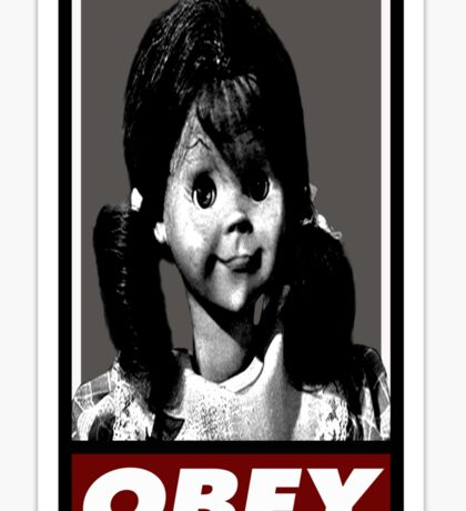 Talky Tina - TZ OBEY Sticker
