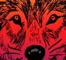 Wolfy Sticker