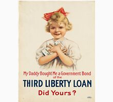 Vintage poster - Third Liberty Loan Unisex T-Shirt