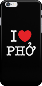 I Heart (Love) Phở by iloveisaan