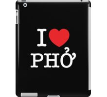 I Heart (Love) Phở iPad Case/Skin