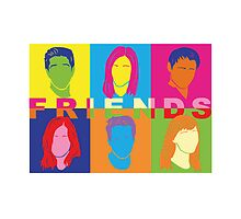 Friends PopArt (Pillows & Totes Edition) by agustindesigner