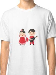 Flamenco boy and girl 3 Classic T-Shirt
