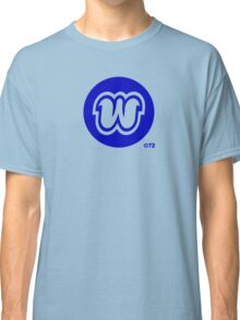 "Orange ""W"" T-shirt Classic T-Shirt"