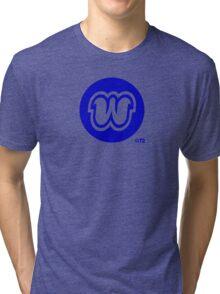 "Orange ""W"" T-shirt Tri-blend T-Shirt"