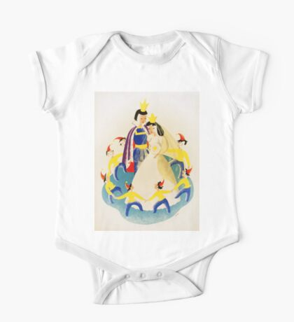 Vintage poster - Snow White One Piece - Short Sleeve