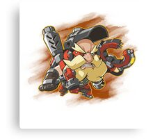 Torbjorn Splat Canvas Print