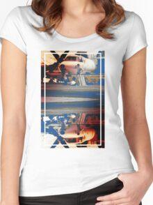 CRA Flight Deck 1 Warm Women's Fitted Scoop T-Shirt