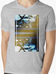 CRA Flight Deck 1 Cool Mens V-Neck T-Shirt
