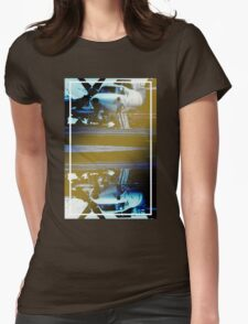 CRA Flight Deck 1 Cool Womens Fitted T-Shirt