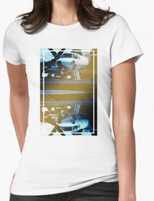 CRA Flight Deck 1 Cool Womens Fitted T-Shirt