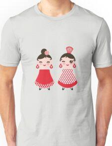 Flamenco girls Unisex T-Shirt