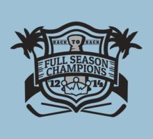 Back to Back Full Season Champions - Modern Kids Clothes