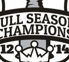 Back to Back Full Season Champions - Modern Sticker