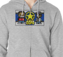 Two 8-Bit Players Zipped Hoodie