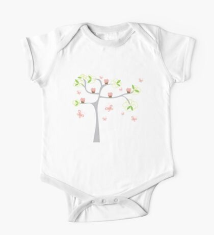 Whimsical Pink Cupcakes Tree Kids Clothes