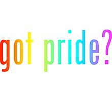 got pride? Photographic Print