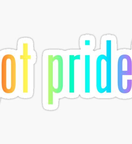 got pride? Sticker