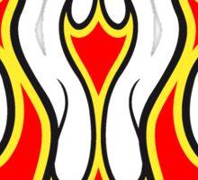 Feuer kunst  Sticker