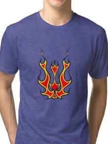Feuer kunst  Tri-blend T-Shirt