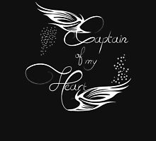 Captain of my Heart Womens Fitted T-Shirt