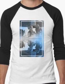 CRA Flight Deck 2 Blue Men's Baseball ¾ T-Shirt