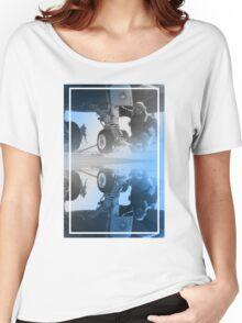 CRA Flight Deck 2 Blue Women's Relaxed Fit T-Shirt