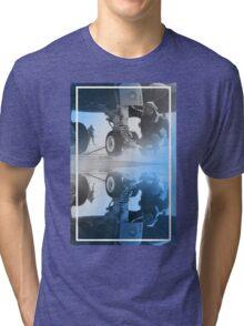 CRA Flight Deck 2 Blue Tri-blend T-Shirt