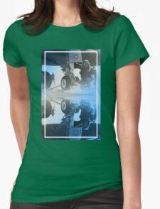CRA Flight Deck 2 Blue Womens Fitted T-Shirt