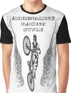 biker : bicycle adrenaline Graphic T-Shirt