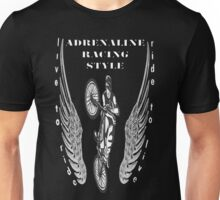 biker : bicycle adrenaline Unisex T-Shirt
