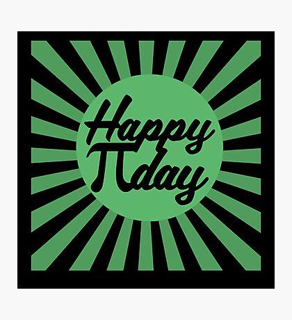 Happy Pi Day Photographic Print