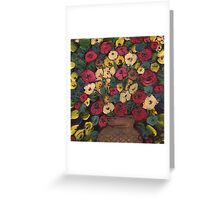 Old flowers Greeting Card