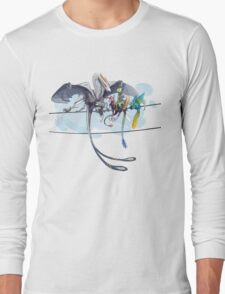 Dragons on a Wire Long Sleeve T-Shirt