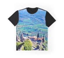 Above the Plain of Sparta, Greece, Spring 1960 Graphic T-Shirt