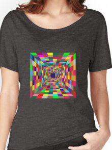 Walk through the light !! Women's Relaxed Fit T-Shirt