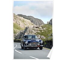 The Three Castles Welsh Trial 2014 - Aston Martin DB5 Poster