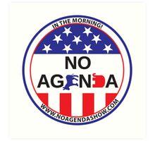 No Agenda Badge of Courage Art Print