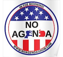 No Agenda Badge of Courage Poster