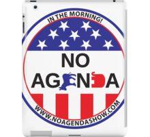No Agenda Badge of Courage iPad Case/Skin