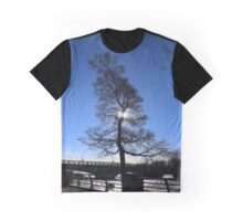 Shy Sun | Niagara Falls, New York Graphic T-Shirt