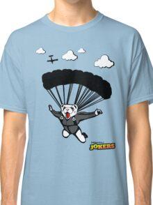 Skydiving Ferret  Classic T-Shirt