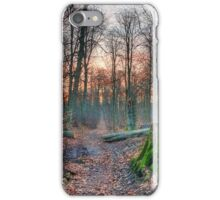 Logging Track. iPhone Case/Skin