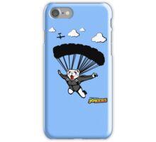 Skydiving Ferret  iPhone Case/Skin