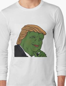 Trump Pepe Long Sleeve T-Shirt
