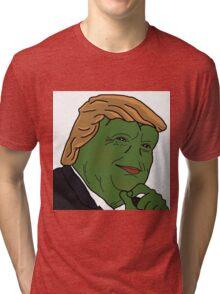 Trump Pepe Tri-blend T-Shirt