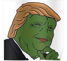 Trump Pepe Poster