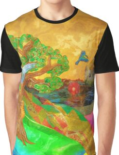 Let color bring you smiles as you walk lifes many miles Graphic T-Shirt